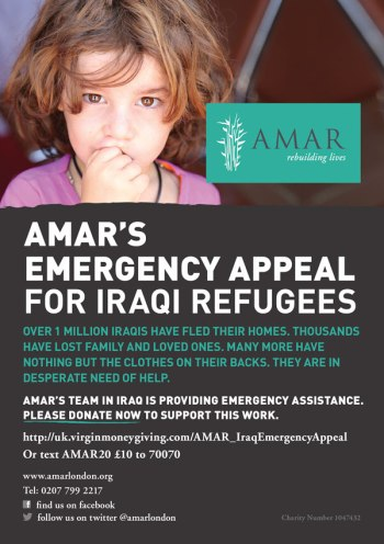 AMAR Emergency Appeal Flyer 1
