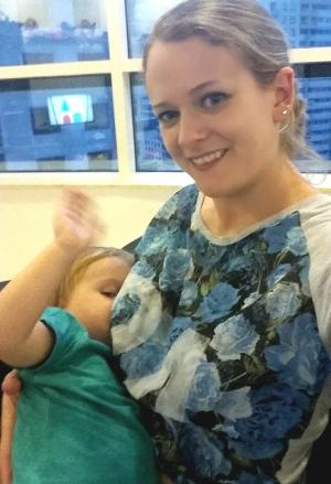 #Ostentatiousbreastfeeding Suzie Ferguson