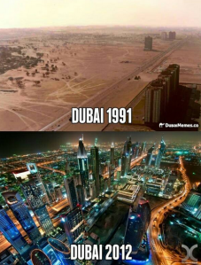 Dubai then and now